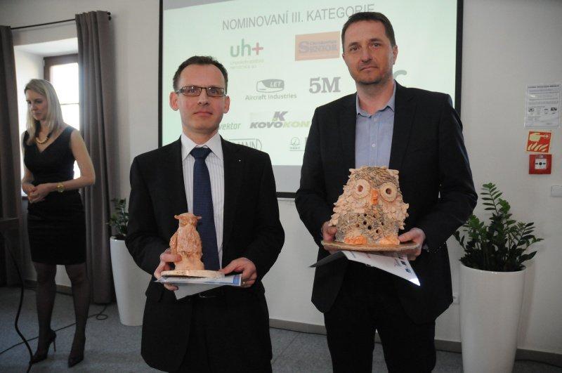 Bronislav Janeček převzal 1. cenu v kategorii